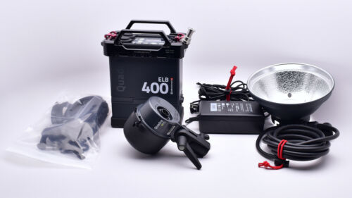 Elinchrom ELB 400 Hi-Sync To Go Kit Quadra HS Head ProMedia Cage EL104181 (8701)