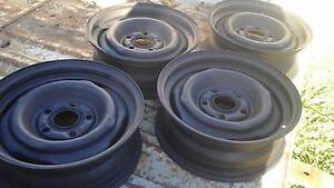 "Ford Falcon 14x5""rims(set of 4) suit f/mont mustang xr to xy xaxb Warwick Southern Downs Preview"