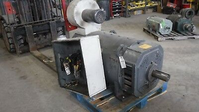 500 HP DC Emerson Electric Motor, 1750 RPM, 509AT Frame, DPFV, 500 V