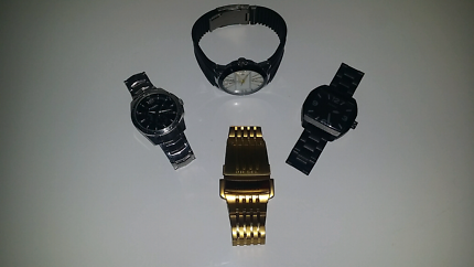 Assorted Mens Watches ( 1 Ladies )
