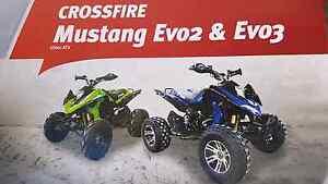 2013 model Crossfire Mustang Evo3 250cc quad atv Holmesville Lake Macquarie Area Preview