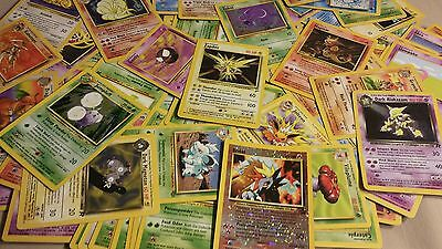 75 VINTAGE WOTC Wizards Pokemon cards Base set to Legendary Collections!