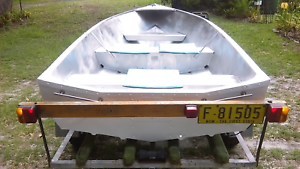 11ft tinny, full rego trailer, motor included. was $1800 NOW