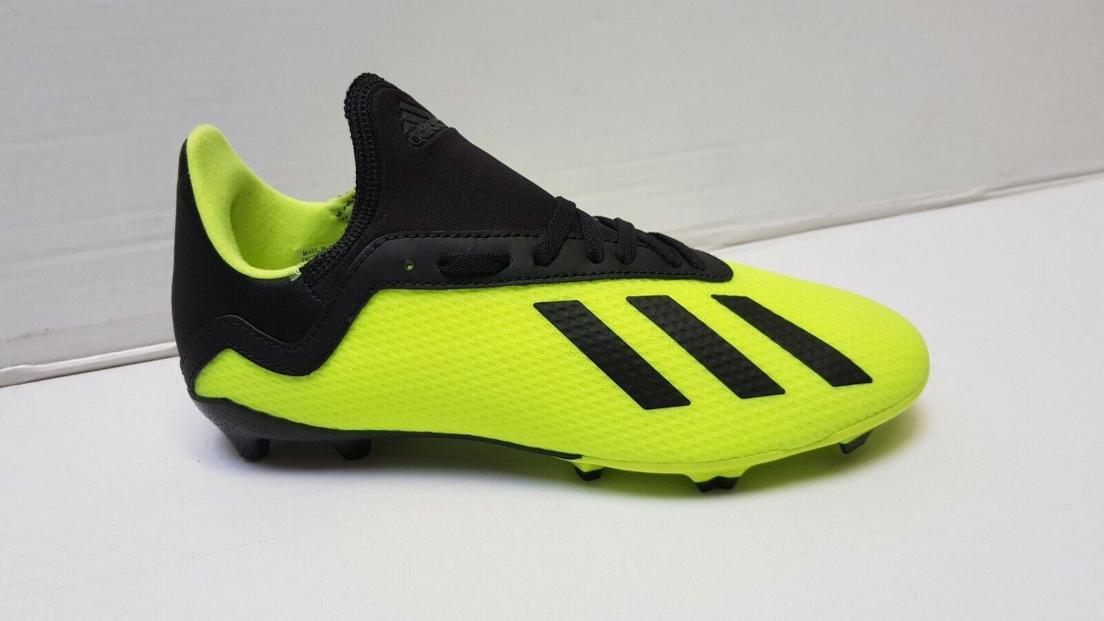 adidas Kinder Fussballschuhe X 18.3 FG J Kunstrasen Nocken Wiese  36 37 38 NEU