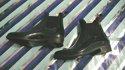 New MICHAEL Kors Women's shoes black ankle rain boots sz -