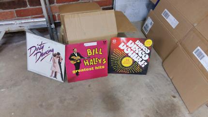 Vinyl  Records lps 33 & 45