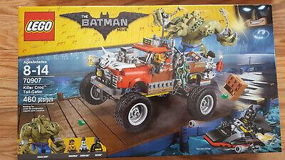 Lego The Batman Movie Killer Croc Tail-Gator set 70907 New & Sealed