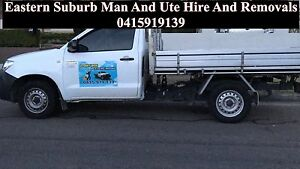 Eastern Suburb Man And Ute Hire And Removals Eastern Suburbs Preview