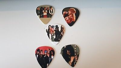 Guns n Roses Guitar picks x 5