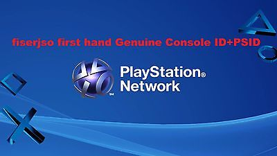 PS3 Console ID 100% Private,Unban IDPS CID + PSID