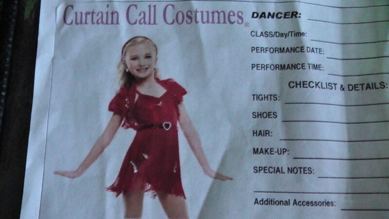 Kids Dancewear Costume Girls dance outfit sweetheart Size Child Large