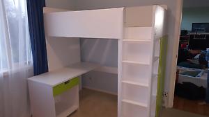 Ikea Stuva Loft Bed with Desk Doncaster Manningham Area Preview