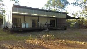 Huge two  Bedroom Demountable with balcony on Private 10 acres