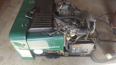 Onan Commercial 6500 Gasoline Generator Only 160 Hrs