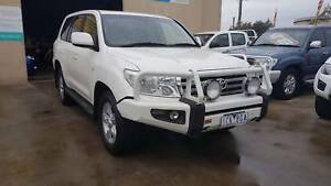 2011 Toyota Landcruiser SAHARA TURBO DIESEL AUTO Williamstown North Hobsons Bay Area Preview