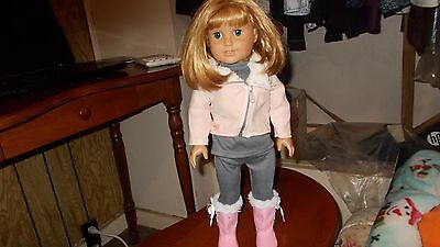 american girl doll Nellie with book