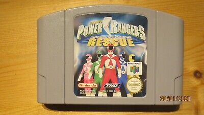 Power Rangers Lightspeed Rescue for Nintendo 64 N64. Cart Only. Pal