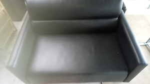 Leather couches Epping Whittlesea Area Preview