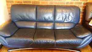 Nick Scali 3 Seater Leather Lounge Beverley Park Kogarah Area Preview