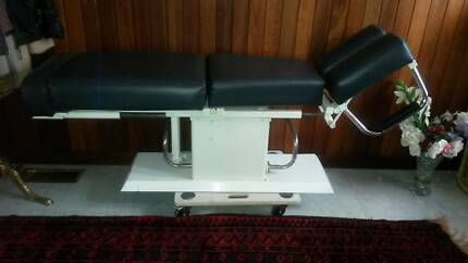 HYDRAULIC CHIROPRATIC ADJUSTMENT COUCH Canterbury Boroondara Area Preview
