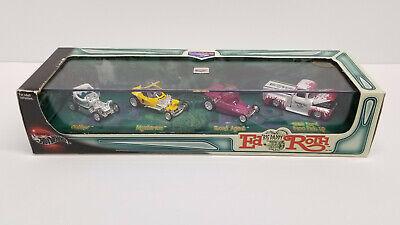 "100% Hot Wheels Custom Series Ed ""Big Daddy"" Roth, 4 car set, SEALED NIP"