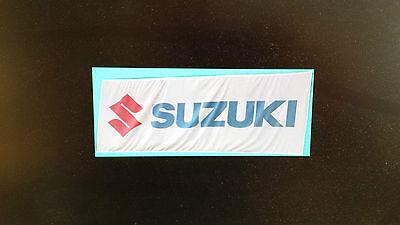 Riesig große ORIGINAL SUZUKI Fahne / Flagge / Banner  NEU in OVP !