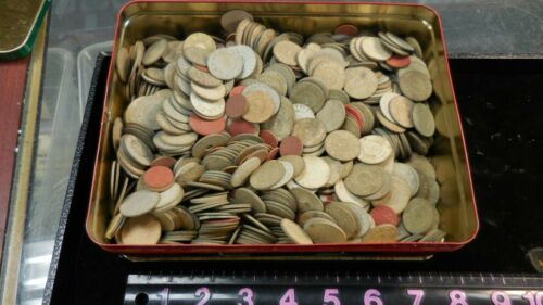 100 Alabama  Sales Tax Tokens--MOSTLY PAPER PICKED AT RANDOM--12 LOTS AVAILABLE