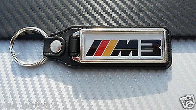 Porte clés LONG CUIR BMW MOTOR SPORT  M3   Neuf ++++++++