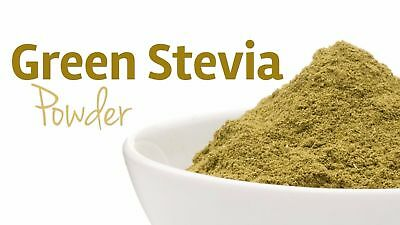 Organic PREMIUM Stevia Green Leaf Powder Natural Zero Calori