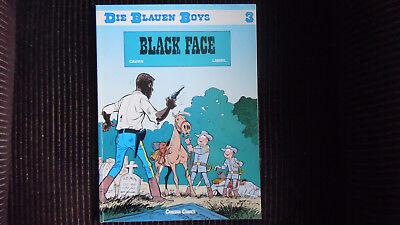 Die blauen Boys Nr 3, Black Face Carlsen 1. Aufl