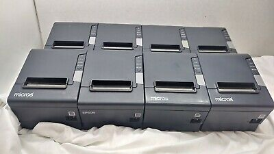 8 Lot - Epson Tm-t88v M244a Point Of Sale Pos Usb Thermal Receipt Printer