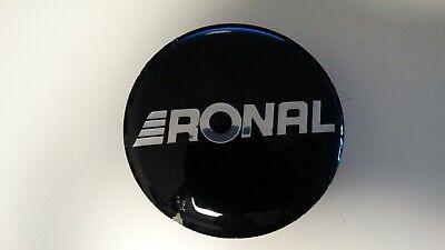 Ronal Nabendeckel Nabenkappen 0030201glänzend Schwarz / Silber 003 0201, gebraucht gebraucht kaufen  Köln
