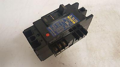 Mitsubishi No-Fuse Circuit Breaker NF30-SS, 20 AMP, 2 Pole, 600V, Used, WARRANTY