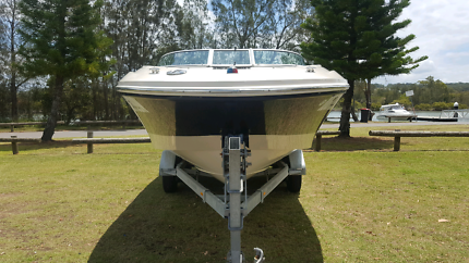 2008 Sea Ray 195 Sport 5.0L MPI V8 260hp 2015 Felk Gal Trailer
