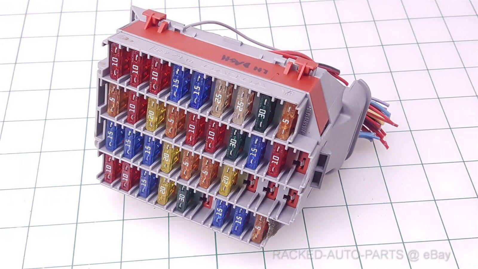 99-09 volvo s60 s80 v70 v70 xc oem dash fuse box cabin left panel  electrical box   ebay  ebay