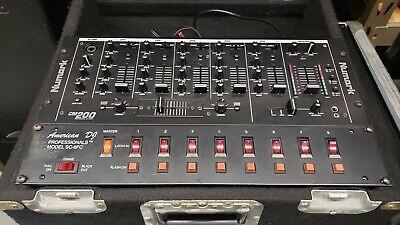 Numark CM200 5-Channel Professional Dj Mixer XLR outputs, great price