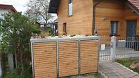Mülltonnenbox, Metallbox, Mülltonne, Mültonnenverkleidung 240l Bayern - Essenbach Vorschau