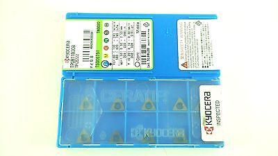 Lot Of 10 Kyocera Ceratip Tpgb110308 Tpgb222 Tn6020 Cermet Insert