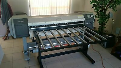 Upgraded Hybrid Flatbed Printer 64 Mutoh Valuejet 1608 Hs With New Printhead