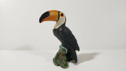 retired Schleich #14328 Toco Toucan bird toy animal collectible 04-08