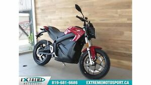 2017 Zero Motorcycles Zero S R ZF13.0 DEMO  55,61$/SEMAINE