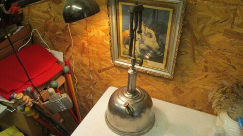 Antique Nickel Finish Pressure Table Lamp Parts