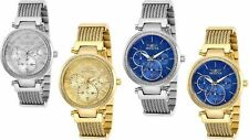 Invicta Women's 36mm Angel Crystal Quartz Woven Stainless-Steel Casual Watch