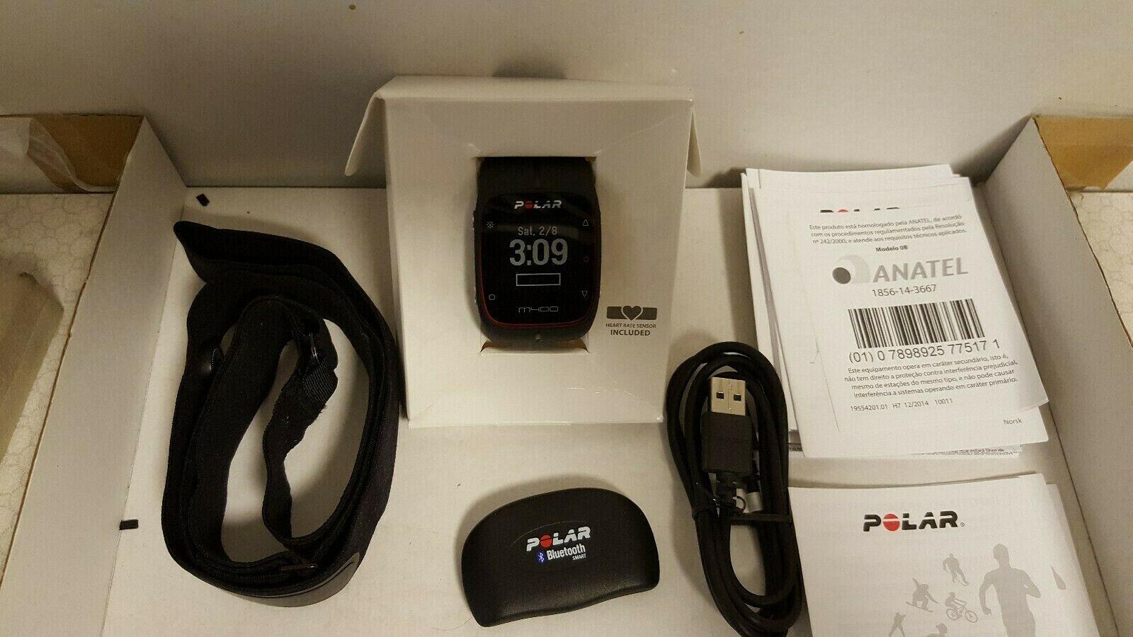 Polar M400 GPS Laufuhr Aktivitätentracker Fitnessuhr Mit Brustgurt