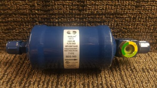 163 Liquid Line Filter Drier WITH sight glass!!flare box of 25