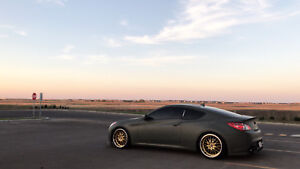 2010 Genesis Coupe 2.0 Turbo - Camo green dipped