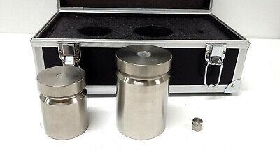 Troemner Calibration Metric Weight Set 2kg 4kg 20g Test Weights In Hard Case