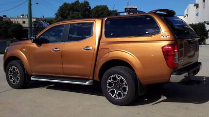 ute canopy brand new to suit nissan np300 styleside tub - Orange Canopy 2016