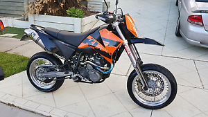 2005 KTM 640 LC4 Super Motard Banyo Brisbane North East Preview