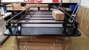 100 series Full Length Steel Roof Rack Heavy Duty Landcruiser 4wd Moorabbin Kingston Area Preview